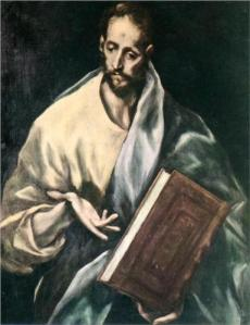 """James the Less"" by El Greco, 16th Century"