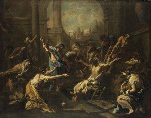 The Raising of LazarusBy Alessandro Magnasco