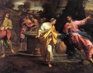 The Samaritan Woman at the WellBy Annibale Caracci
