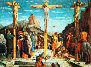 Crucifixion Scene from the San Zeno AltarpieceBy Andrea Mantegna