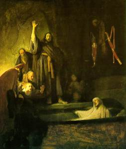 The Raising of LazarusBy Rembrandt