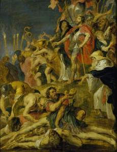 """Judas Maccabeaus Praying for the Dead"" By Peter Paul Rubens"