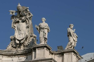 Statues from St. Peter's Square, Vatican City