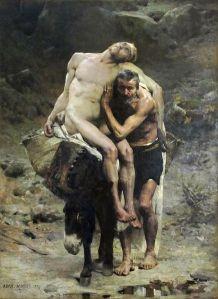 """""""Le Bon Samaritain"""" by Aimé Morot"""