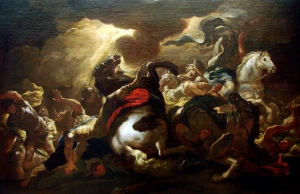 """""""The Conversion of Saint Paul"""" by Luca Giordano"""