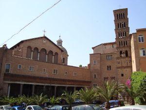 Santi Giovanni e Paolo al Celio, built on the home of the martyrs