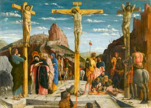 """The Crucifixion"" by Andrea Mantegna"