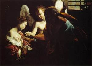 """Saint Peter Healing Agatha"" by Giovanni Lanfranco"