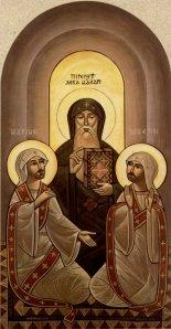 Coptic Icon of St. Macarius