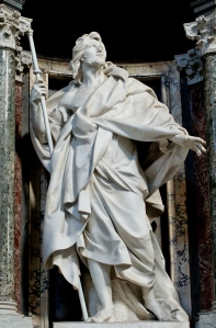 Statue of St. James the Greater at the Basilica of St. John Lateran in Rome