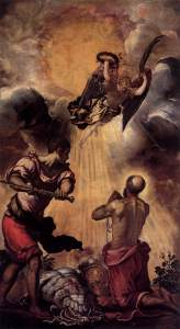 """""""The Martyrdom of St. Paul"""" by Jacopo Tintoretto"""