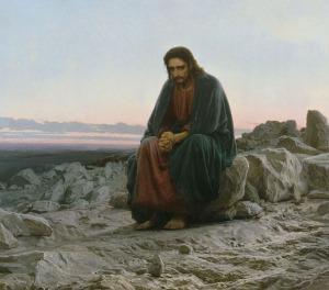 """""""Christ in the Desert"""" by Ivan Kramskoi, 1872"""