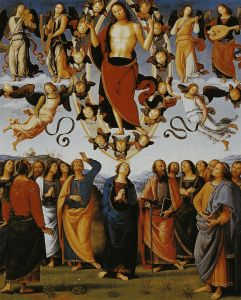 """""""Ascension of our Lord Jesus Christ"""" by Pietro Perugino"""