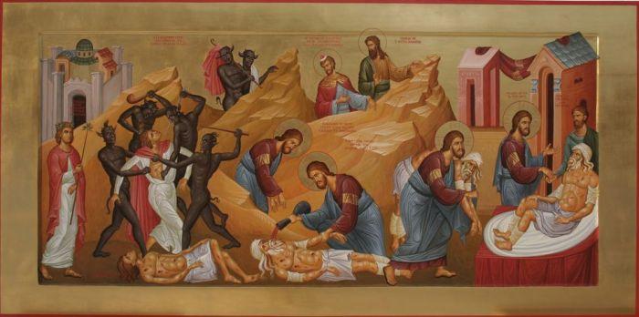 Icon of the Good Samaritan - Imgur
